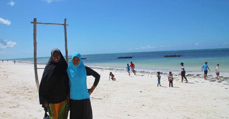 Les CE2A à Zanzibar : Deuxième journée !