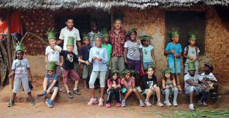 Les CE2A à Zanzibar : Dernière journée !