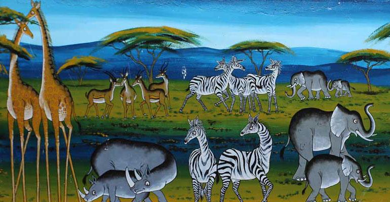 Rencontre avec la culture Maasaï et M. Pierre-Jacques Lué