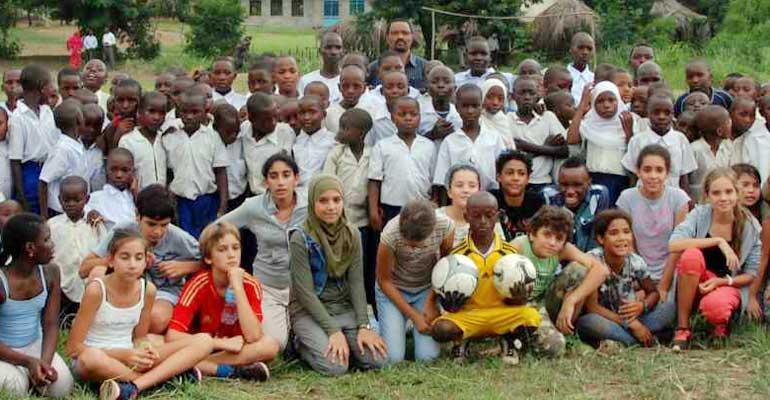 Levée de fonds pour les enfants de Lumango