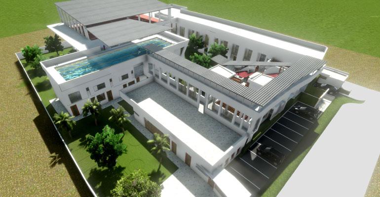 Le nouveau campus primaire d'Arthur Rimbaud à Masaki