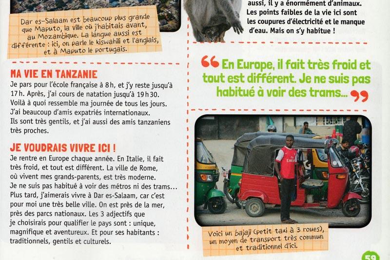 Rudi, reporter pour le magazine Géo Ado slide 4