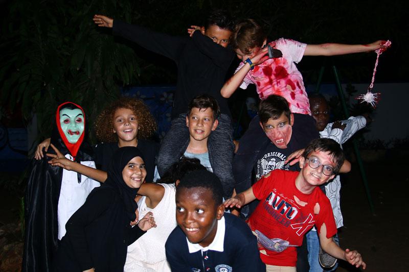 Soirée Halloween des collégiens slide4