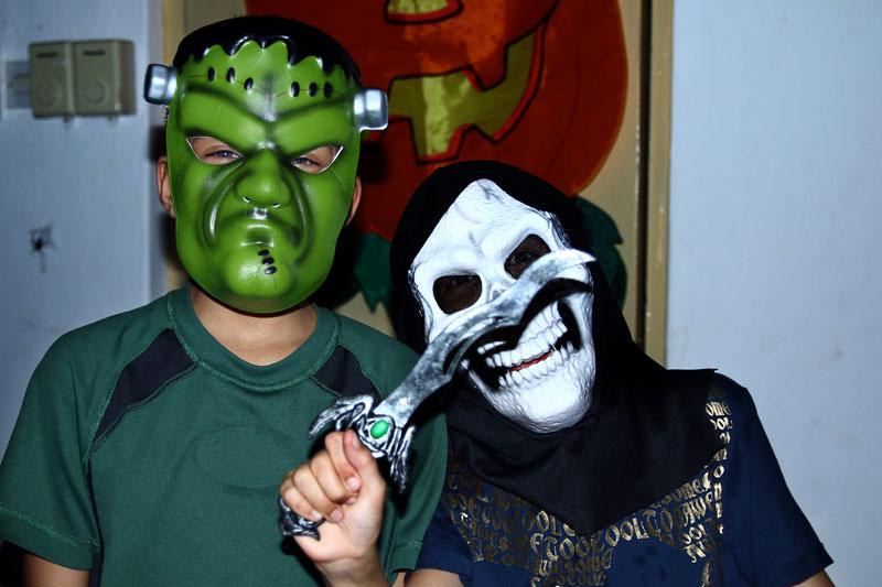 Soirée Halloween des collégiens slide7