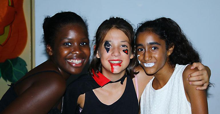 Soirée Halloween des collégiens