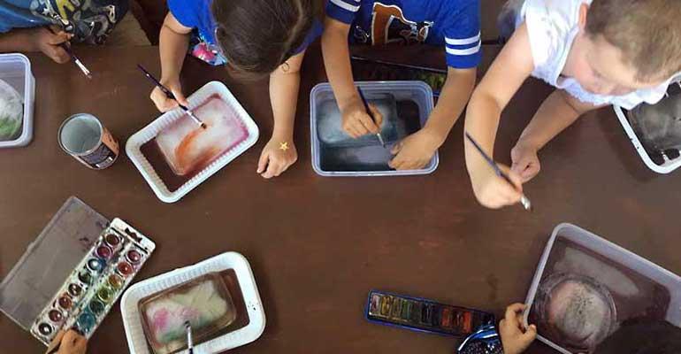 Atelier d'art en maternelle – 1 –