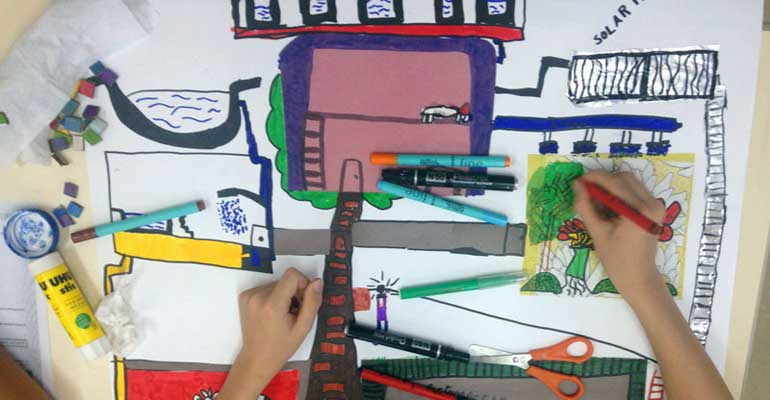 CM 2 : projet artistique avec Vincent Callbaut