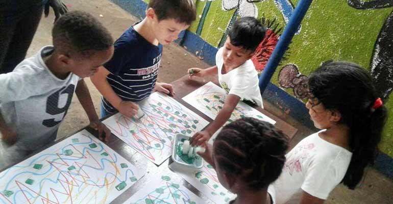 Atelier d'art en maternelle – 3