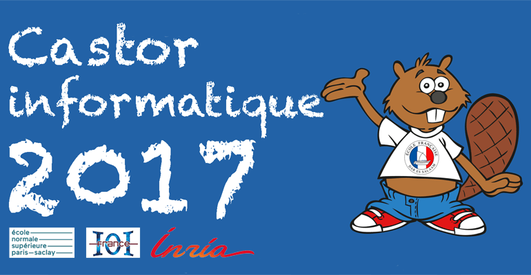 Concours Castor Informatique 2017