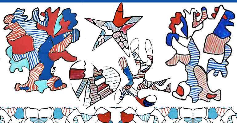 AES Arts plastiques, quelques dessins volés…