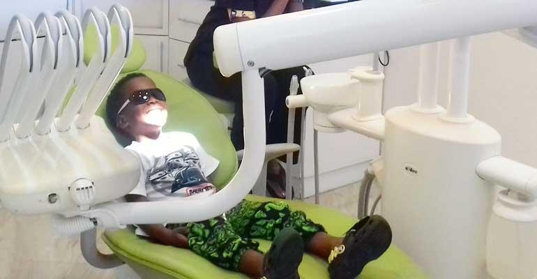 Visite chez le dentiste