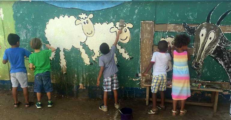 Expérimentations artistiques en maternelle