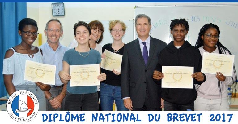 Diplôme National du Brevet 2017
