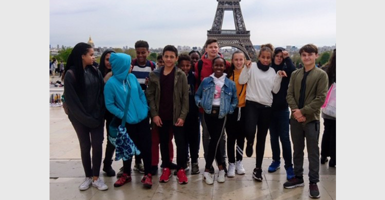 Voyage de découverte à Paris