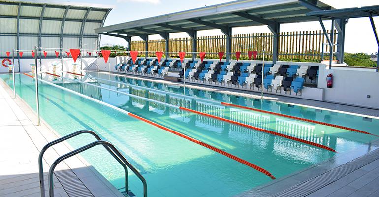 Nouvelle piscine en élémentaire et secondaire
